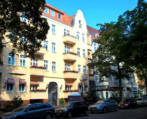 Fastenwandern-Hotel Fassade